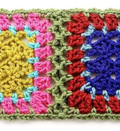Gourmet Crochet: Simulated braid join