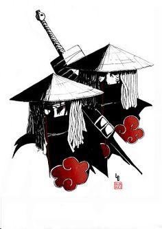 akatsuki itachi and kisame by limandao on DeviantArt Anime Naruto, Naruto Madara, Naruto Shippuden Anime, Sarada Uchiha, Naruto Art, Manga Anime, Boruto, Sasuke, Manga Tattoo