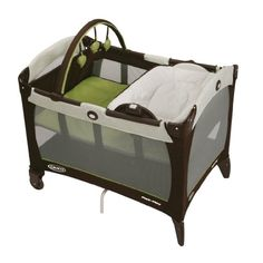 Graco Pack n Play Playard with Reversible Napper and Changer Go Green #baby