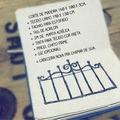 Casa de Colorir: Como fazer uma cabeceira nova (cabeceira para cama box)