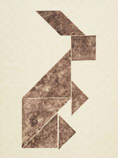 'Hase-an-einem-postmodernen-Morgen',-2014,-Radierung-von-7-Platten-auf-ornamentiertem-Japanpapier,-ca.-48-x-38-cm Hanna Hennenkemper