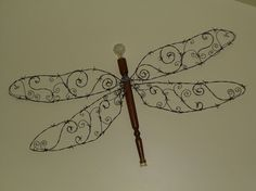 Barbed Wire Wall Butterfly Craft :: Hometalk