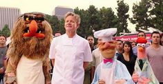The Muppet Mindset: The Swedish Chef Takes On Gordon Ramsay and more Disney news at the Disney Bloggers Collection. http://disneybloggers.blogspot.com.