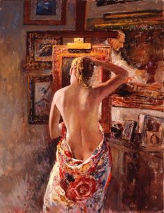 Joan Marti  - Figurative Paintings by Joan Marti