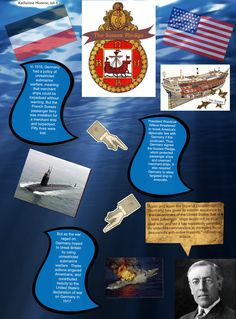 During WWI Germany had a policy of Unrestricted Submarine Warfare, after the French passenger ship 'Sussex' was sunk by a German U-boat they made the Sussex Pledge, that they would not sink a passenger ship, however they eventually broke this pledge.