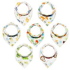 Baby Bandana Drool Bibs Unisex 7-Pack Gift Set for Drooli... https://www.amazon.com/dp/B077Q8XJVW/ref=cm_sw_r_pi_dp_U_x_ZavrAbDZGRXYS