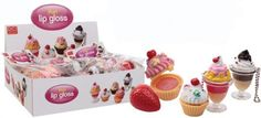 Fun Lip Gloss - Cupcake - As if your kisses were not sweet enough