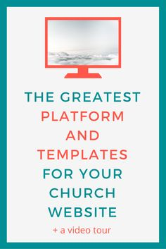 I have seen so many church websites with an array of colours, photos that are too small to see, and so much information that you feel as though you?re looking at a syllabus. Well, I?ve got a platform that will help you change all of that, and it?s called Squarespace. In this post we?ll run through what it is that I love about Squarespace and why I think your church should use it too. I?ve also got a video for you where we?ll run through my favourite church website templates. >> Click to…
