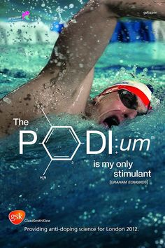 Great 2012 olympic themed advertisements by a drug company