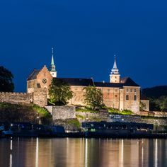 - Oslo tip: Stroll the grounds at Akershus Fortress in Oslo, Land Of Midnight Sun, Parks, Wanderlust, Visit Norway, Fjord, Medieval Castle, Us Travel, Around The Worlds