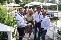 Surf-and-WLAN: AEO GmbH errichtete Eventnetz für die GERRY WEBER OPEN WLAN am See