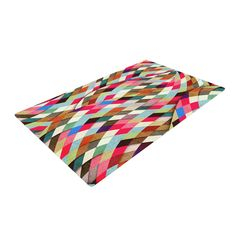 "Danny Ivan ""Adored"" Art Object Woven Area Rug"