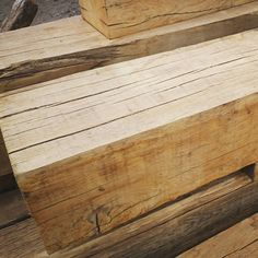 Large section air dried oak beams sanded.  Perfect for construction #beams #sanded #oakfield #oakbeams #oaksupply #sussex #horsham #cowfold #lowerbeeding #westsussex #construction #diy #homeimprovement #oakframing