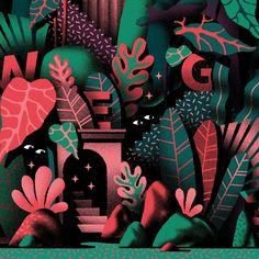 Botanical Illustration, Graphic Design Illustration, Digital Illustration, Graphic Art, Environment Concept Art, Illustrations And Posters, Grafik Design, Pixel Art, Art Inspo