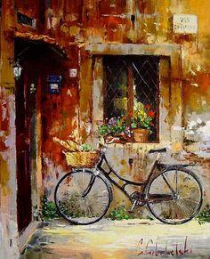 Colours of Rome (2005) - Original Oil on Canvas