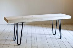 Hairpin Pine Bench Hairpin, Benches, Dining Bench, Pine, Table, Furniture, Home Decor, Pine Tree, Banks