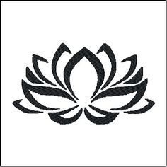 Lotus Flower Stencil Template - Reusable Stencil with Multiple Sizes Available Yoga Tattoos, Body Art Tattoos, Tribal Tattoos, Small Tattoos, Tatoos, Crazy Tattoos, Unalome, Lottus Tattoo, Future Tattoos