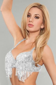 0bc11a804d68e Fringe Sequin Bra. The perfect sequin bra for Dance Competitions or Dance  Costumes. Dance
