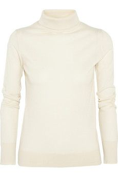 The Row Linden cashmere and silk-blend sweater | NET-A-PORTER