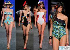 Top Swimwear Trends 2016 at Gran Canaria Moda Calida: Frills