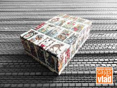 #2013 #Cajas #Papeles #Regalos #Manualidades #Boxes #Papers #Gifts #DIY #Papercrafts #Tarot