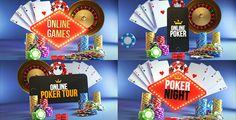 Poker Casino Logo Reveal Modular Pack