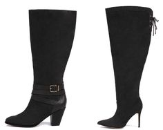 Shapely Chic Sheri - Eloquii Debuts Wide Width Shoes #widecalf