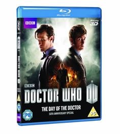 Doctor Who: The Day of the Doctor - 50th Anniversary Special [Blu-ray 3D] @ niftywarehouse.com #NiftyWarehouse #DoctorWho #DrWho #Whovians #SciFi #ScienceFiction #BBC #Show #TV