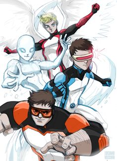 All-New X-Boys by LucianoVecchio on DeviantArt