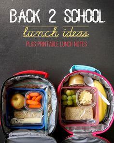{Lunch Box Ideas}