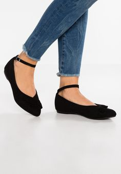 New Look Wide Fit WIDE FIT SOLO - Sandalias black 3Y1pUz3