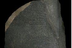 """Rosetta kivi õpetas tänapäeva teadlasi hieroglüüfe lugema. Foto: Hans Hillewaert<span class=""""right"""">Wikimedia commons</span>"""