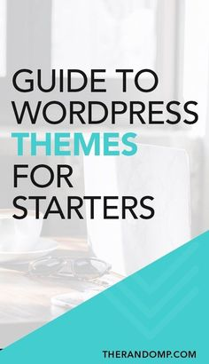 Guide to WordPress themes for starters: how to choose the best Wordpress theme? What are the most important things to know about Wordpress themes before setting Learn Wordpress, Site Wordpress, Wordpress Website Design, Wordpress Theme Design, Best Wordpress Themes, Wordpress Admin, Admin Login, Wordpress Support, Design Blog