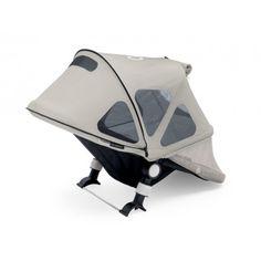 Bugaboo Capota ventilada Donkey gris ártico. Protege a tu hijo del sol y permite la circulación de brisa fresca.