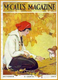 | eye-dyllic |: Autumn: Vintage Magazine Covers