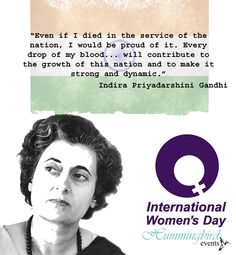 Today, March 3rd, our third day of supporting women: Indira Priyadarshini Gandhi (November 19, 1917 - October 13, 1984) was the third Prime Minister of India and a central figure of the Indian National Congress party. Gandhi served from 1966 to 1977 and then again from 1980 until her unfortunate assassination in 1984. She is the second-longest-serving Prime Minister of India and the only woman to hold the office.     #internationalwomensday #women #international #womensrights