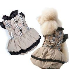 dog winter dress