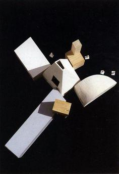 Casa de invitados Winton, Frank O. Frank Gehry, Conceptual Model Architecture, Architecture Details, Drawing Architecture, Structural Model, Neoclassical Interior, House Sketch, Hospital Design, Cad Drawing