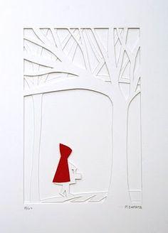 Caperucita, de Patricia Zapata LRRH Little Red Riding Hood