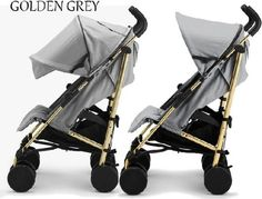 Elodie Details Stockholm Stroller Golden šedý 2015 - 0 Elodie Details, T Baby, Baby Boom, Infant Activities, No Equipment Workout, Baby Gear, Stockholm, New Baby Products, Baby Strollers