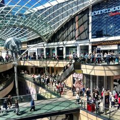 Trinity Leeds Shopping Centre in Leeds