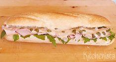 Broodje vitello tonnato (kalfsfricandeau met tonijnmayonaise)