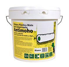 Siempre las cosas más últiles para tu hogar: PINTURA PLÁSTICA MATE ANTIMOHO BLANCA 12 L INTERIOR/EXTERIOR Más en  http://todohogarweb.es/wordpress/producto/pintura-plastica-mate-antimoho-blanca-12-l-interiorexterior/