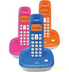 Teléfono inalámbrico Brondi veg