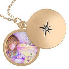 Carousel Dreams Locket #locket #necklace #carouseldreams #moondreamsmusic #accessorize #mom #baby