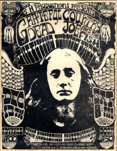 Grateful Dead at The Swing Auditorium Poster