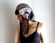 Patchwork autumn beret  One of a kind  by AliceCloset on Etsy, €43.00