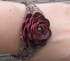 Flower Cuff Bracelet