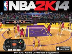 NBA 2K14 (click picture for direct link to iTunes)