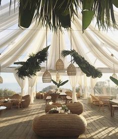 Event lounge areas are a gorgeous trend that is here to stay! The 360 at Skyline loves lounge areas! Tropical Houses, Tropical Decor, Tropical Vibes, Tropical Wedding Decor, Moroccan Wedding, Tropical Party, Tropical Style, Moroccan Style, Outdoor Spaces